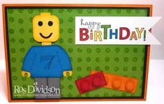 Lego card by r davidson