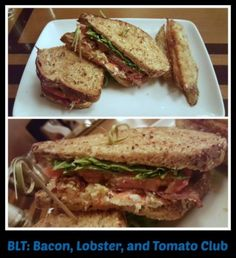Bacon, Lobster, and Tomato Club from The Wave at Disney's Contemporary Resort