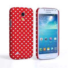 Samsung Galaxy S4 Mini Cute Hearts Red and White Case #Red #Hearts #White #Pattern #Cute #Valentine #PolkaDots #Love #ValentinesDay #Gift #Present #Samsung #Galaxy #S4Mini #GalaxyS4Mini #SamsungS4Mini #Case #Cover #HardCase #PhoneCover