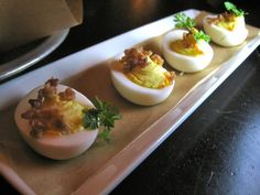 10 GREAT LOS ANGELES BARS WITH TRULY EXCELLENT FOOD|| Deviled Eggs at Library Bar #food #barsnacks #yummy #HangZero