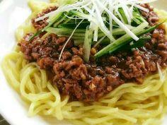 肉味噌がおいしい♡ジャージャー麺の画像