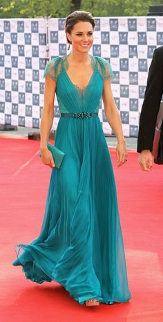 beautiful in turquoise dress It'd be a pretty wedding dress in ivory