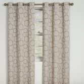 Found it at Wayfair - Eclipse Curtains Meridian Grommet Blackout Window Panel in Linen