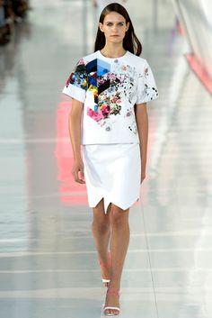 Preen by Thornton Bregazzi Spring 2014 Ready-to-Wear Fashion Show - Val Debeuf