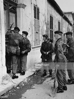 British Troops Search for EOKA Fighters. British Army, Troops, Facts, History, Search, Strength, Historia, Searching