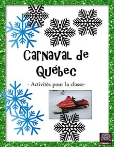 FRENCH - Add a little extra to your lessons about Carnaval de Québec with these 2 activities. Included is a fun decoding activity for your students to do and also a French word search. Answer keys are included for both. This product is written in French. French Teaching Resources, Teaching French, Teacher Resources, How To Speak French, Learn French, French Club Ideas, Carnival Activities, Quebec Winter Carnival, Mardi Gras
