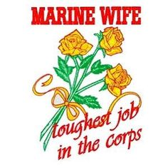 What Being a Military/Marine Wife is Like for me