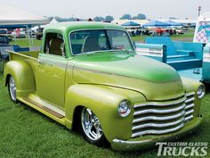 1950 Chevy Pickup, perfect street rod to go cruising the coast