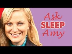 Smart Girls At the Party on Sleep. Ask Amy. Ep. 14 http://www.youtube.com/watch?v=PpJOtFkYu38