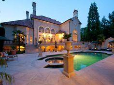 Mediterranean Mansion in Atlanta, Georgia