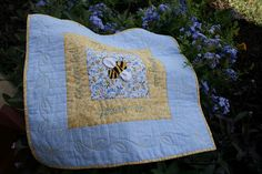 So sweet! Buzzing and Bumbling's tutorial for A Honey of a Preemie Quilt.