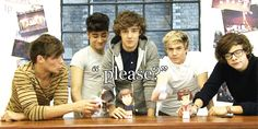 HAHAHAHAHAHAHAHAHAHAHAHA SO MUCH GOODNESS IN THIS GIF Louis' and Zayn's dolls are kissing.. and Zayn's face as he's making his doll do it is PRICELESS. Liam is just plain stinkin' cute. Nialler is hilarious :) And Harry. Oh Harry. You special boy :)