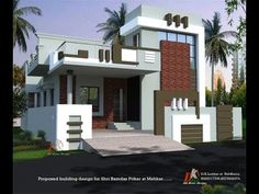 House Elevation Plans Hyderabad ground floor home elevations, Best house design - YouTube