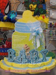 ideas de decoración para un baby shower perfecto Unisex Baby Shower, Baby Shower Niño, Baby Shawer, Children, Party, Shower Ideas, Babies, Wedding Silhouette, Quinceanera Centerpieces