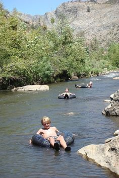 tubing down the Kern River, i did this plenty of times back in the day, nuthing more fun then spending a sunday at the river at heart park woohoo
