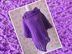 Southbay poncho - purple