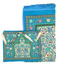 Quran Messenger Bags w/Prayer Rug