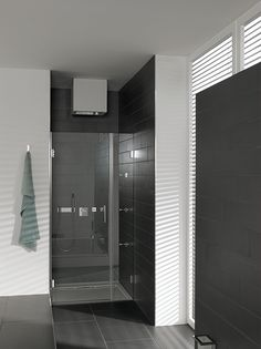 Glazen douchedeur   badkamer inspiratie