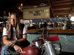 Michael Ballard Full Throttle Saloon | Michael Ballard has brought the Full Throttle Saloon into the ... Full Throttle Saloon, Hack My Life, Impractical Jokers, Best Clips, Reality Tv Shows, Good Customer Service, Favorite Tv Shows, Seasons, Biker