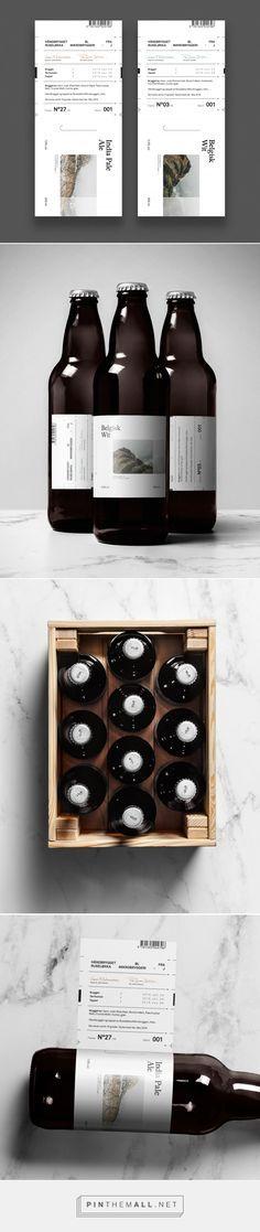 Ruseløkka Microbrewery (Concept) Ruseløkka Microbrewery beer label design by Nicklas Hellborg – www. Beverage Packaging, Bottle Packaging, Brand Packaging, Web Design, Design Food, Design Package, Craft Beer Labels, Beer Label Design, Beer Brands