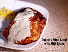 Add twist to your classic recipes just like this delicious country fried steak with milk gravy recipe.