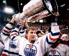 10 Online Quotes by Wayne Gretzky. Wayne Gretzky, The Great One, is considered by many to be the best hockey player that ever lived. Born in Brantford, Ontario, Canada in Mr. Wayne Gretzky, Best Sports Quotes, Soccer Quotes, Good Nicknames, Hockey World, Edmonton Oilers, Sports Figures, National Hockey League, Stanley Cup