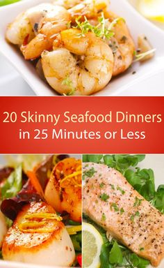 20 Skinny Seafood Dinners in 25 Minutes or Less