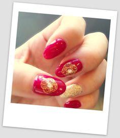 エスニック好きの旧正月ネイル☆CNY nail with style : Organized Life and Space