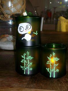 trio bambou , revisité en atelier decos ...
