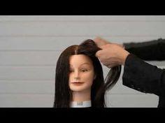 Французская укладка French hairdo парикмахер тв parikmaxer.tv - YouTube