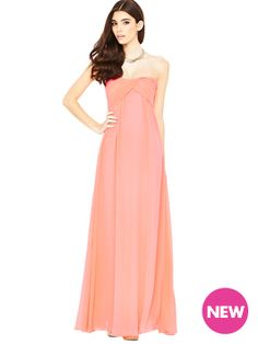a9e41de54c21 Glamorous Neon Bandeau Maxi Dress Latest Fashion