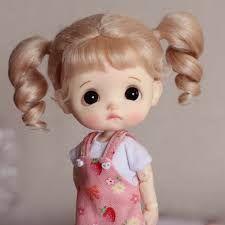 Tiny Dolls, Blythe Dolls, Make Makeup, Cute Box, Doll Painting, Good Night Quotes, Neck Piece, Doll Head, Beautiful Dolls