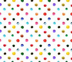 pois_d_aquarelle_L fabric by nadja_petremand on Spoonflower - custom fabric