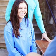 A casual way to express your preppy attitude and still look incredible? Sold. Shop the link in our bio for our #Longshanks long sleeve tee. #CCPrep #Preppy #PreppyStyle