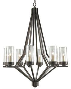 Longcross Chandelier design by Currey & Company