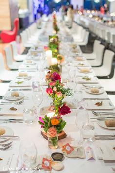 Table setting at the reception. Wedding Tables, Wedding Reception, Wedding Venues, St Kilda, Wedding Inspiration, Wedding Ideas, Reception Ideas, Real Weddings, Centerpieces