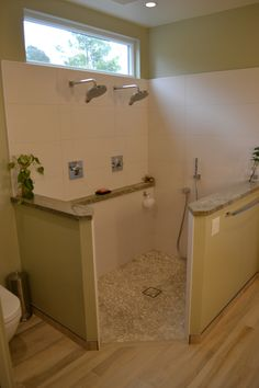 Door Less And Curb Less Walk In Shower By Marcus Marty Home Improvements /