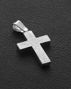 Σταυρός δυο όψεων Λευκόχρυσος Κ14