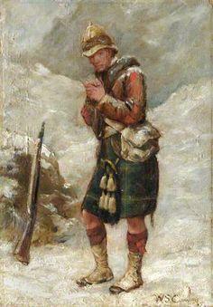 Gordon Highlander, Kandahar Winter 1880. W. Skeoch Cumming/1894