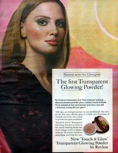 Revlon Touch and Glow Powder  - 1969