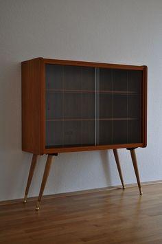 Beistelltisch 60er rot tisch kommode mid century pop art for Sideboard 80er jahre