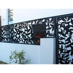 Laser Cut Panels, Laser Cut Metal, Metal Panels, Laser Cutting, Privacy Fence Screen, Fence Screening, Privacy Walls, Decorative Metal Screen, Lanscape Design