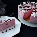 Bavareza cu Visine  Reteta la link in Bio  instafood  cake  instagram  foodporn  desert