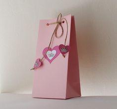 Princess birthday party Pink favor bags Princess favor bags