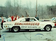 #Ramchargers Funny Car. Brings back memories of high school and Detroit Dragway