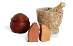 Buy Huon Pine and Myrtle Salt & Pepper Shakers Online | Australian Woodwork