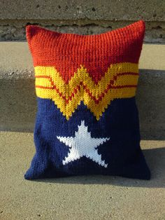 Pillow because you are cool! Wonder Woman