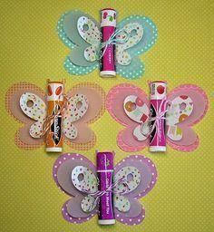 Birthday Ideas For Girls Gifts Kids Crafts 70 Ideas Homemade Gifts, Diy Gifts, Homemade Party Favors, Kids Crafts, Butterfly Birthday Party, Butterfly Party Favors, Butterfly Gifts, Butterfly Invitations, Butterfly Baby Shower