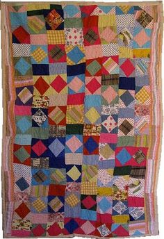 An Urban Cottage: Quilts as Art Quilting Room, Quilting Projects, Quilting Designs, Quilt Design, Wool Quilts, Scrappy Quilts, Antique Quilts, Vintage Quilts, Primitive Quilts