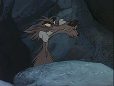The Sword in the Stone - Wolf